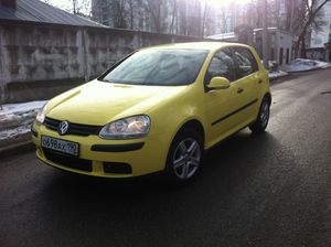 Volkswagen Golf V 1.6 AT (102 л.с.)